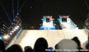 札幌雪まつり 白い恋人PARK AIR スキージャンプ・スノーボード大会