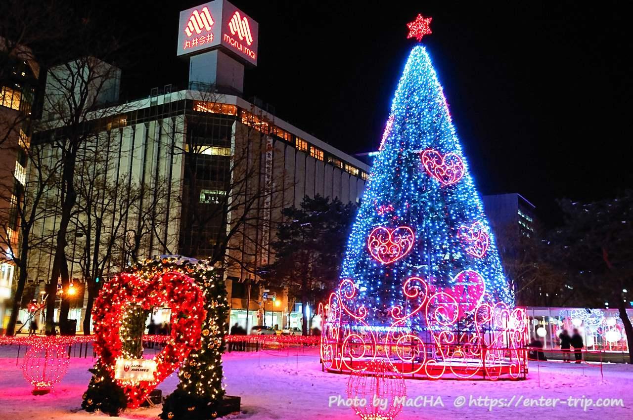 大通公園・札幌ホワイトイルミネーション