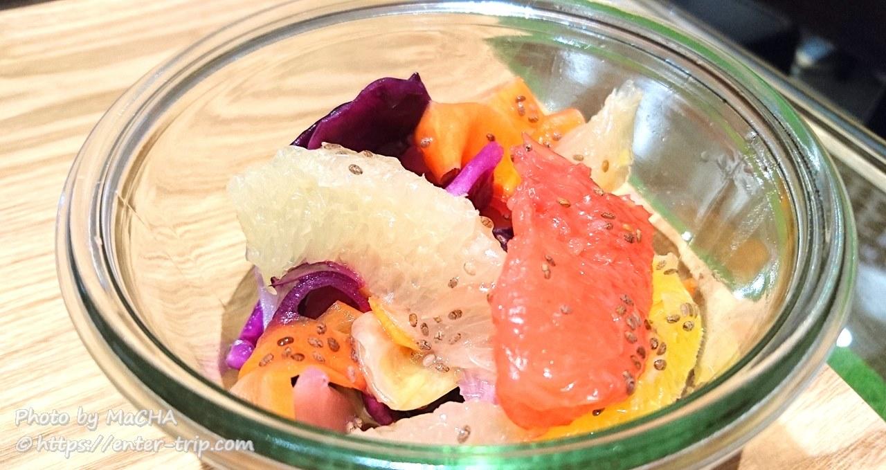 ファイターズカフェデリ 野菜フルーツサラダ
