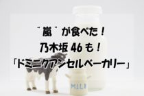 【嵐や乃木坂46も食べた!】ドミニクアンセルベーカリー大丸札幌店・期間限定|チョコクッキーの器で飲むミルク!